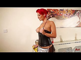 Jennifer jade taboo strip as a sexy maid