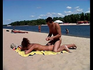 Step Daughter just visit real nude beach