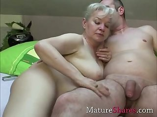 Exclusive granny porn scene