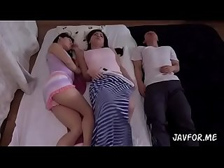 Japanese hot step mom and her friend full video scene 1