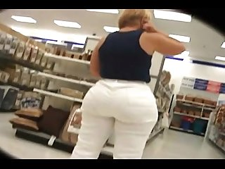 Big fat ass mom shopping