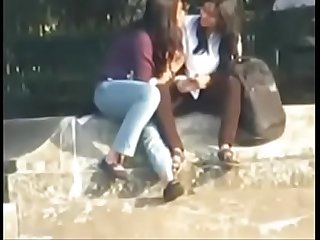 Lesbians caught on cam part 1