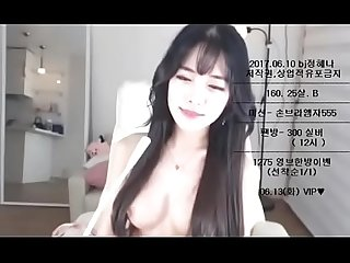 This korean camgirl looks like an Angel comma join her show