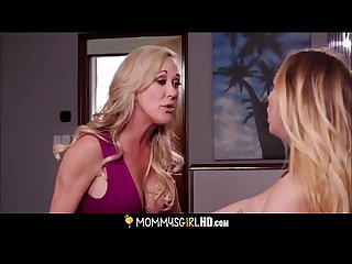 MILF Stepmom Brandi Love And Teen Daughter Carter Cruise Orgasms