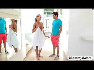 Busty stepmom brandi love hot threesome with natalia starr