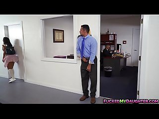 Horny Victoria Valencia fucks with dads employee QUALITY RENDER MP4[0]