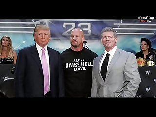 Donald Trump Gets Fucked up on Smackdown live and subscribe on youtube