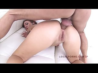 Big butt cheryl s spurts spit out of her gaping asshole after anal fuck