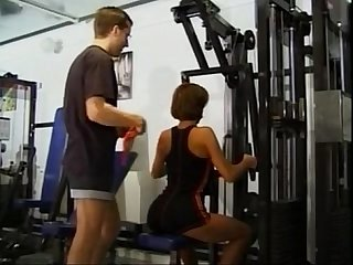 Swedish girl at the gym coachfuck from sexprofiles org