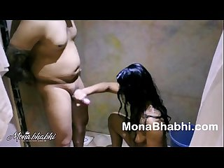 Sexy indian bhabhi mona getting fucked in shower
