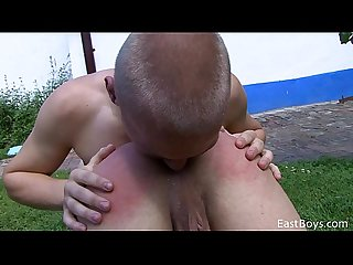 Village boys outdoor sex action