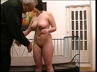 Innocent young brunette makes sex with anyone