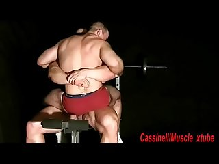 Giant Bodybuilder max worship sex