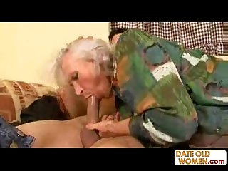 78 years old nasty grandma