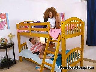 Horny roommates masturbate in the morning
