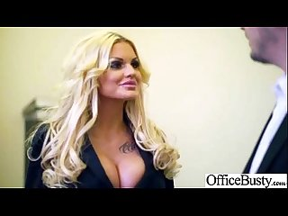 Sex in office with nasty wild busty worker girl Vid 12