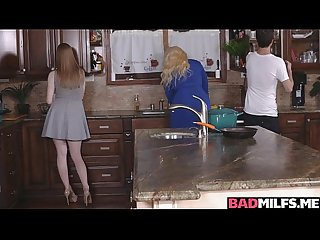 Milf stepmom allura suck her step daughters boyfriend off