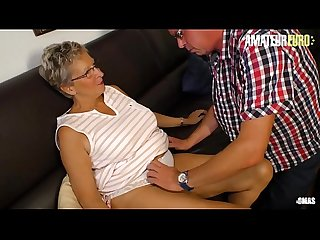 AMATEUR EURO - My Horny Neighbor Just Had Sex With Grandma' Erna