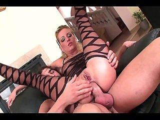 Bodystocking anal