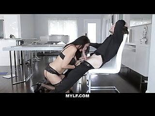 Mylf Mom foxx spreads her pussy lips for attention from her step son