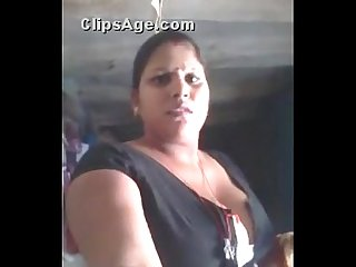 Rubi Aunty again big boobs