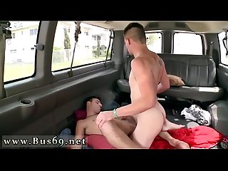 Gay porn dick kissing fucking never stops on the baitbus