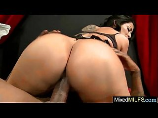 Mixt Hard Sex With Monster Black Cock Deep In Holes Of Sexy Milf (kiara mia) video-20