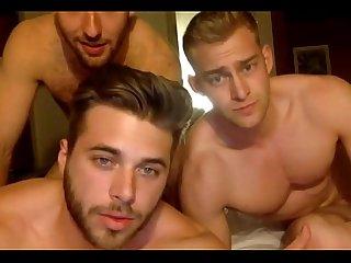 3 muscle bi curious boys suck cock on cam jerkit net