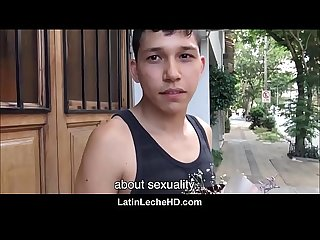 Young straight latino with flowers for his girlfriend fucks gay filmmaker for money pov