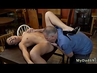 Old white daddy first time Can you trust your girlally leaving her