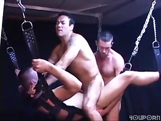 Leather swing holds