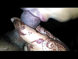 villagedesi aunty mehendi blowjob