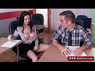 Big tits fucked at school 23
