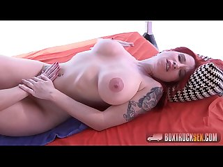 Amazing tiffany leiddi squirts while using a vibrator