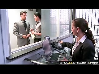 Brazzers - Big Tits at Work - The Man Cums Around scene starring Nikita Von James and Ramon