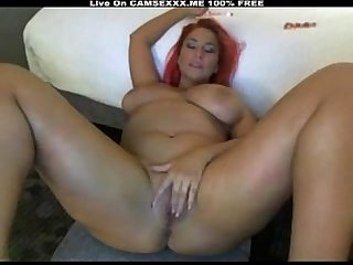 Big Tits Playing With Dildo