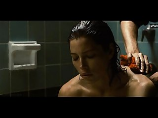 Jessica biel takes her clothes of in A Hot striptease comma topless powder blue lpar 2009 rpar