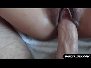Dirty asian slut takes hard fucking