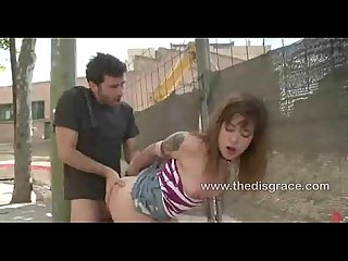Franceska jaimes stripped naked caned