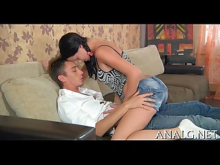 Youthful beauties anal