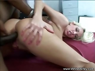 Interracial BBC Anal Fucking Wife
