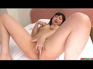 Megumi haruka finger fucking solo play at home more at japanesemamas period com