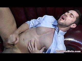 Muscular bottom getting a deep dicking