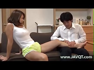JavQT.com - Braless Stepmom With A Horny Body Keeps Tempting me part 2