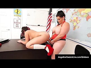 Phat students angelina castro gia love strapon fuck excl