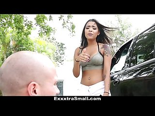 ExxxtraSmall - Rebel Babe Gets Little Pussy Plowed