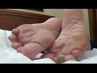 Pov foot tease and worship