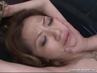 Toyed And Fucked While Bound and Dominated in Asian BDSM