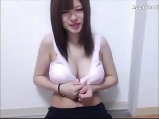Petite Japanese with huge nipples - AdultWebShows.com