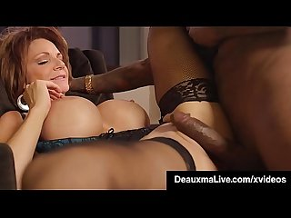 Sexy Southern Cougar Deauxma Big Black Cock Banged In Hotel!